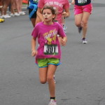 #8 (C.C.) finishing the race...I am right behind her!