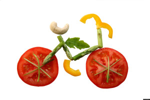 Eating shouldn't be complicated.  It should be as easy as riding a bike!