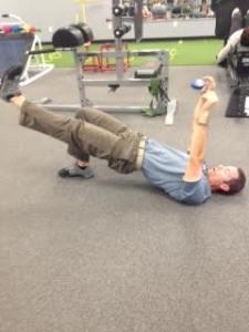 Joe leg lift