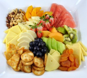 platters of fruit